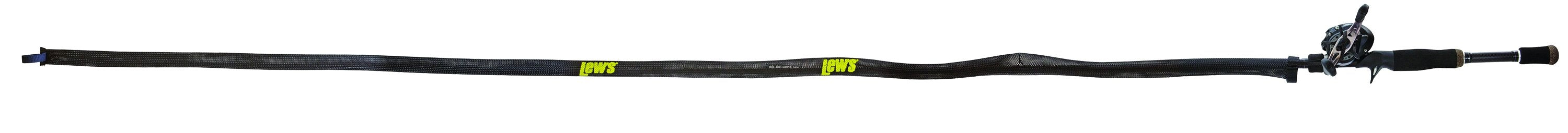 Lew's LSSBC1 Speed Socks for 6 feet 6 inch to 7 feet 6 inch Casting Rod Protection - Black - Bulluna.com