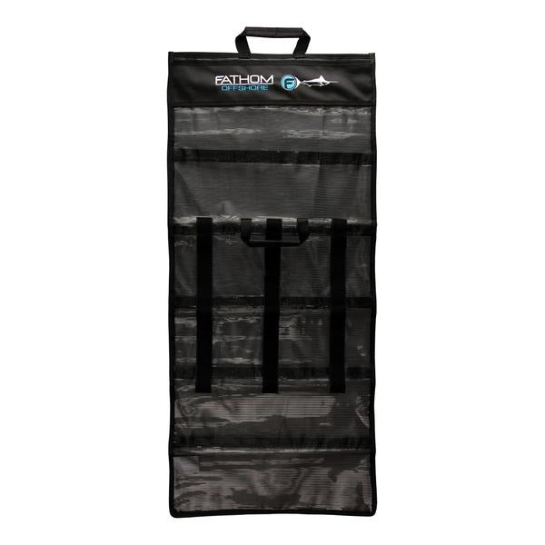 Fathom 6 Pocket Roll Up Lure Bag - Large - Black