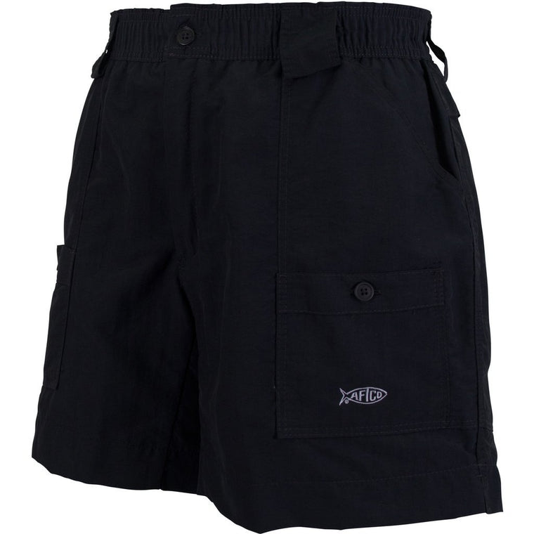 Aftco Original Black Fishing Shorts