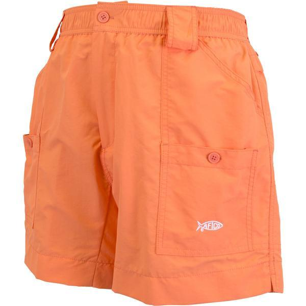 Aftco Original Coral Fishing Shorts