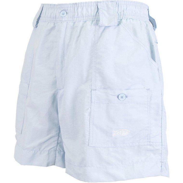Aftco Original Sky Blue Fishing Shorts