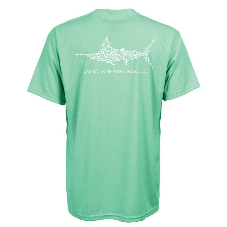 Aftco Jigfish Aloe Short Sleeve Sun Shirt