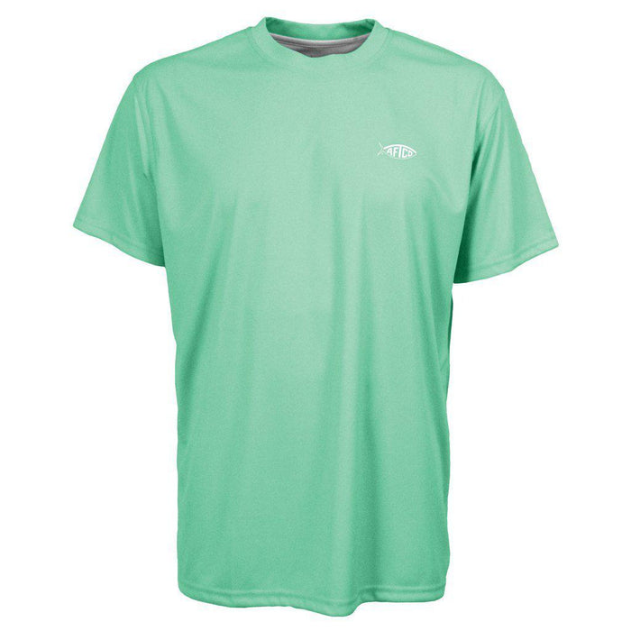 Aftco Jigfish Short Sleeve Sun Shirt