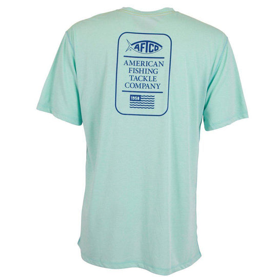 Aftco Haze Kottinu Mint Short Sleeve Sun Shirt