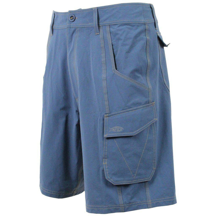 Aftco Stealth Denim Fishing Shorts