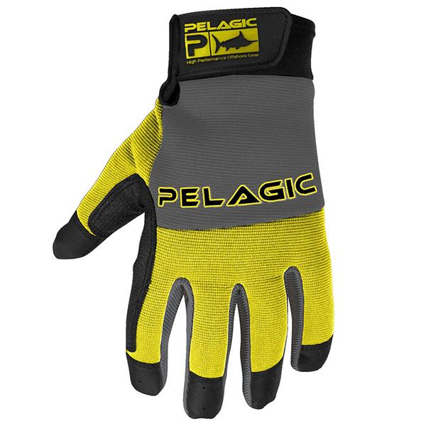 Pelagic Yellow End Game Closed Finger Gloves