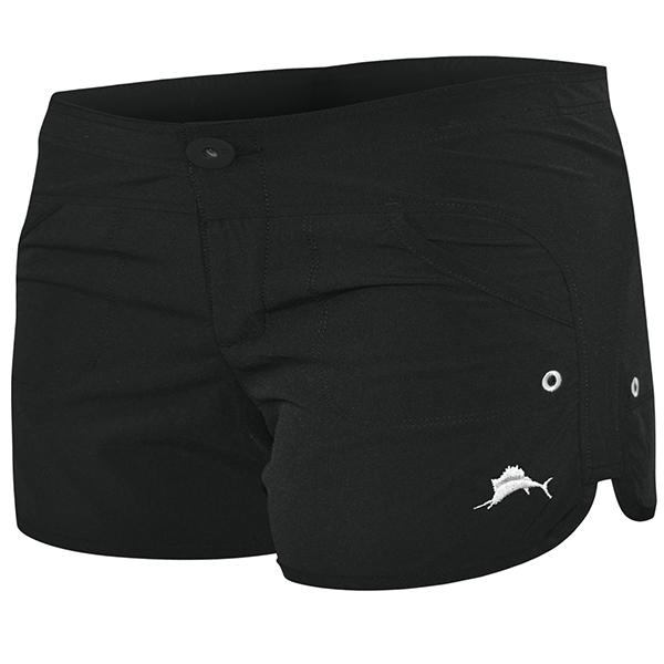 Pelagic Moana Black Hybrid Short - Women