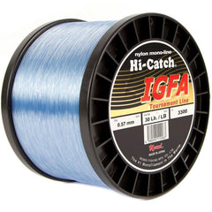 Momoi Hi-Catch I.G.F.A. Nylon Monofilament Line 30 Pounds 3300 Yards - Light Blue - Bulluna.com
