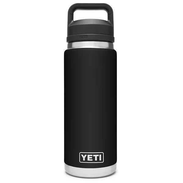Yeti Rambler 36 Ounce Bottle With Chug Cap - Black (HN) - Bulluna.com