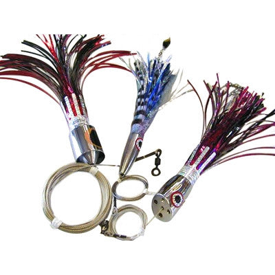Ballyhood World Wide Wahoo Lure Pack