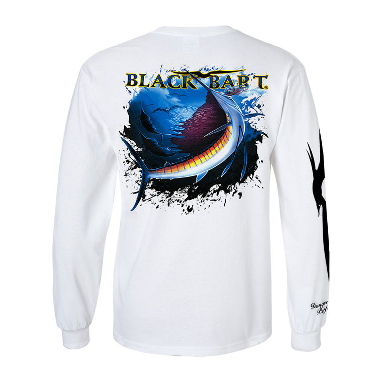 Black Bart Sailfish Long Sleeve T-Shirt