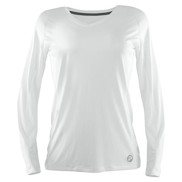 Pelagic Solar Pro White Long Sleeve Sun Shirt - Bulluna.com