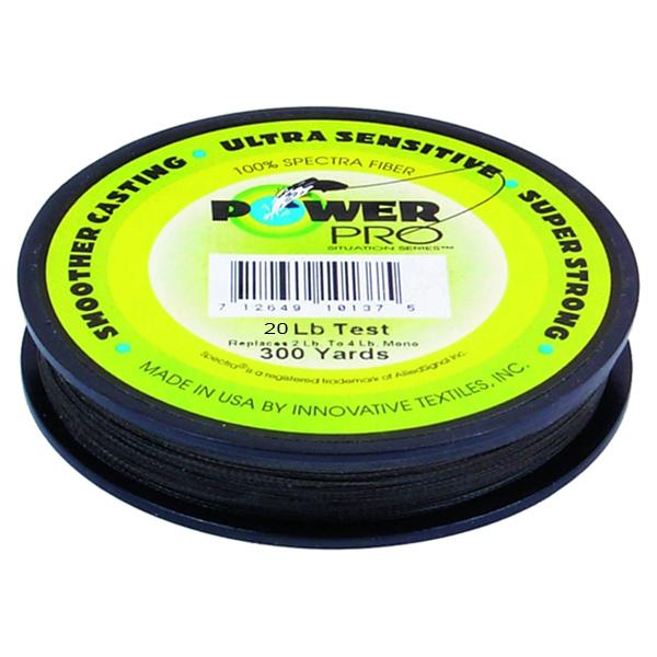 Power Pro Spectra Braided Fishing Line 20 Pounds 300 Yards - Green