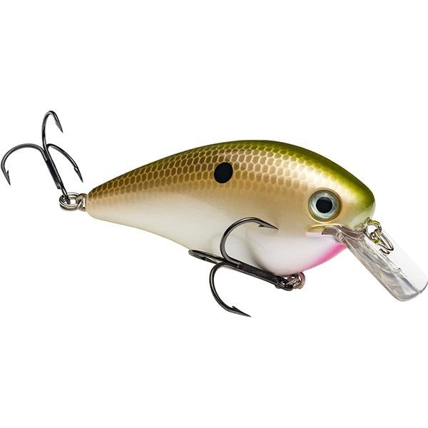 Strike King Pro Model KVD 4.0 Square Bill Silent Crankbait Lure -  4 Inches