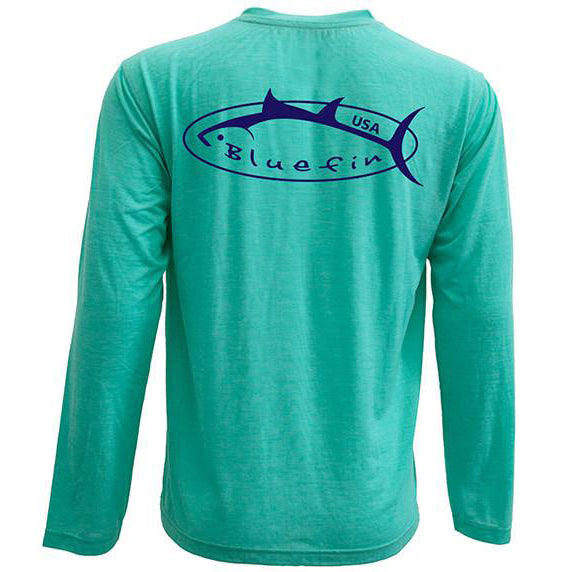Bluefin USA Logo Long Sleeve Sun Shirt