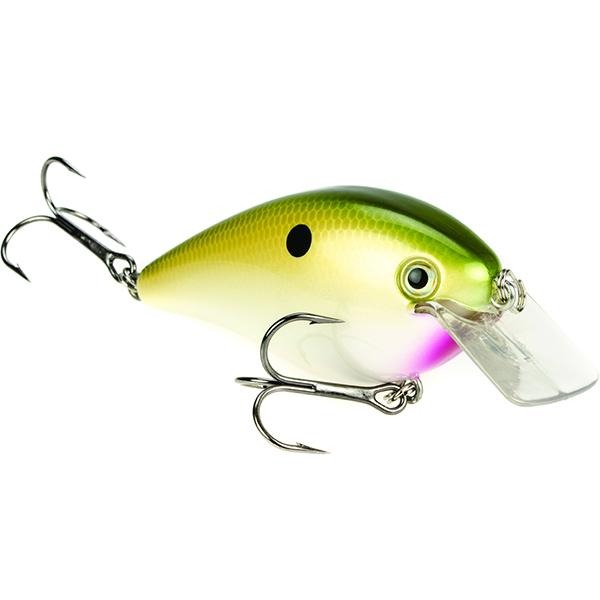 Strike King Pro Model KVD 8.0 Magnum Square Bill Rattle Crankbait Lure - 4 1/4 Inches