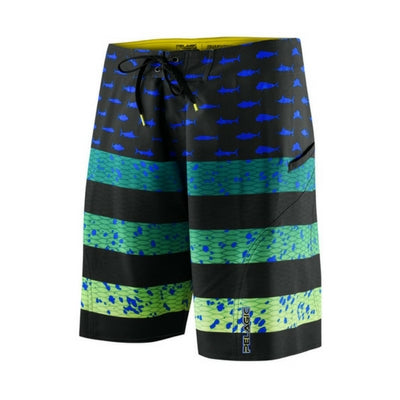 Pelagic Sharkskin Americamo Shorts - Youth - Bulluna.com
