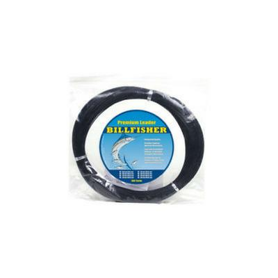 Billfisher Mono Leader Coil 400 Pounds 100 Yards Black