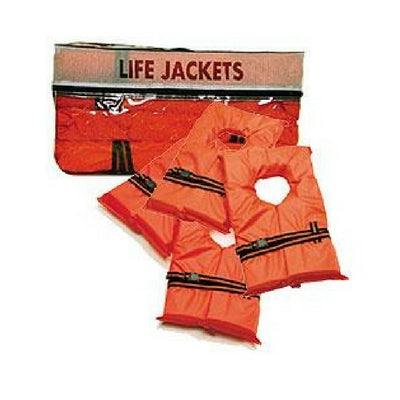 West Marine Type II Buoyant Life Jacket Four-Pack, Adult over 90lb. - Bulluna.com