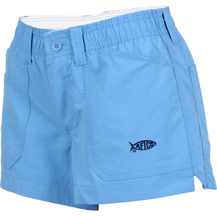 Aftco Original Azure Fishing Shorts - Women