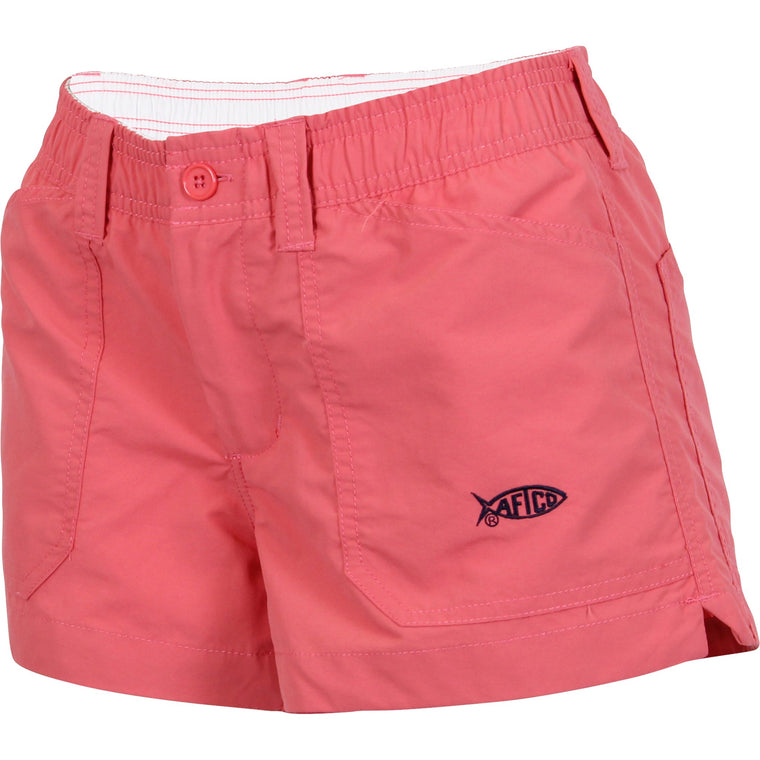 Aftco Original Coral Fishing Shorts - Women