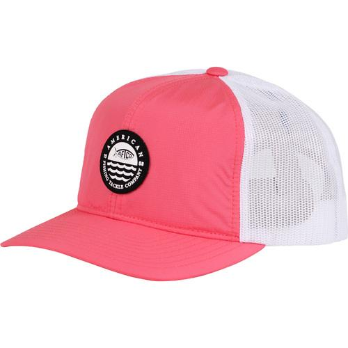 Aftco Skylight Coral Trucker Hat - Women