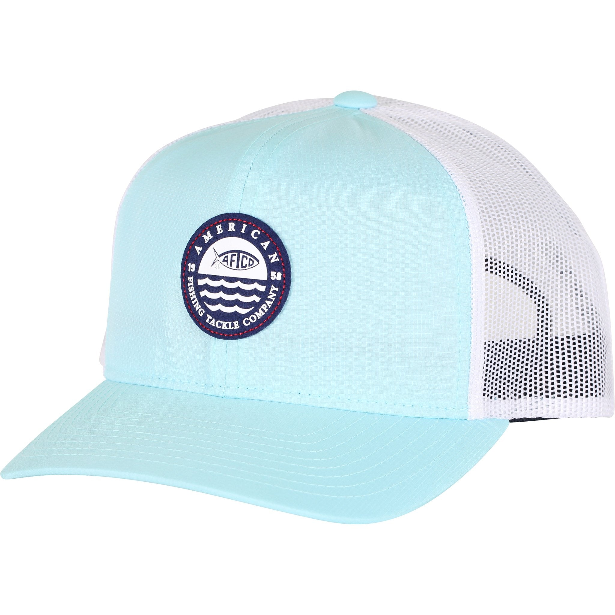 Aftco Skylight Mint Trucker Hat Women