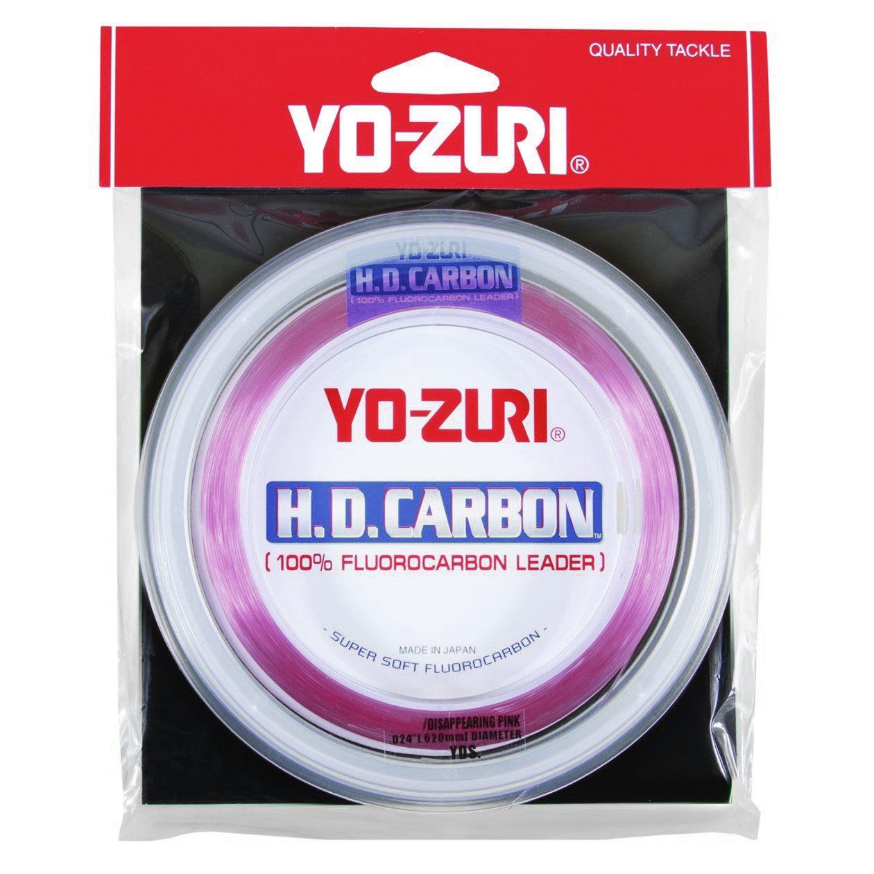 Yo-Zuri H.D Carbon Disappearing Pink 30 yards