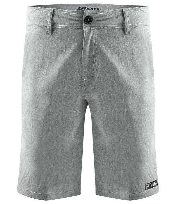 Pelagic Deep Sea Grey Hybrid Short - Youth - Bulluna.com