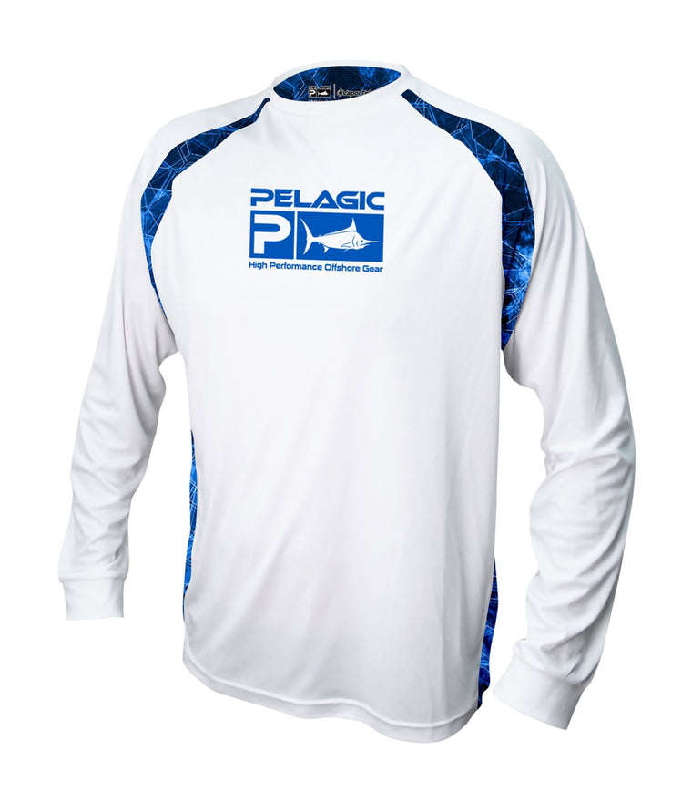 Pelagic Vaportek Sideline - Hexed Long Sleeve Sun Shirt