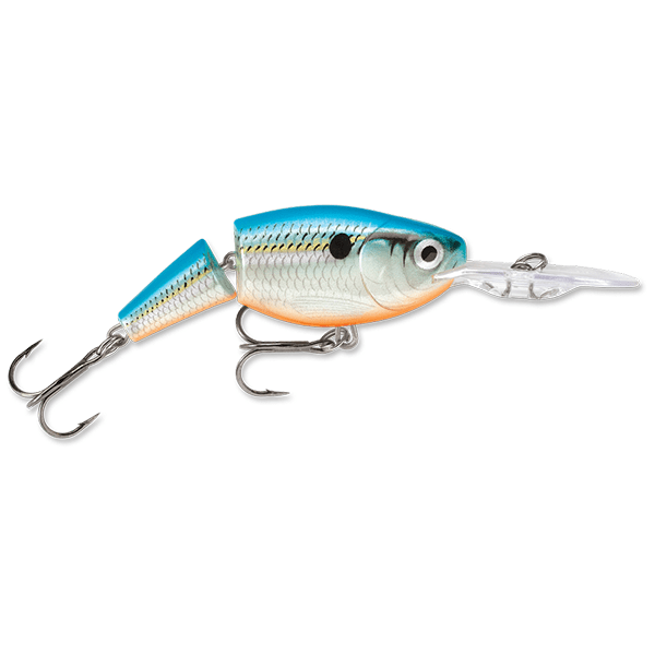 Rapala Jointed Shad Rap 05 Crankbait Lure - 2 Inches - Bulluna.com