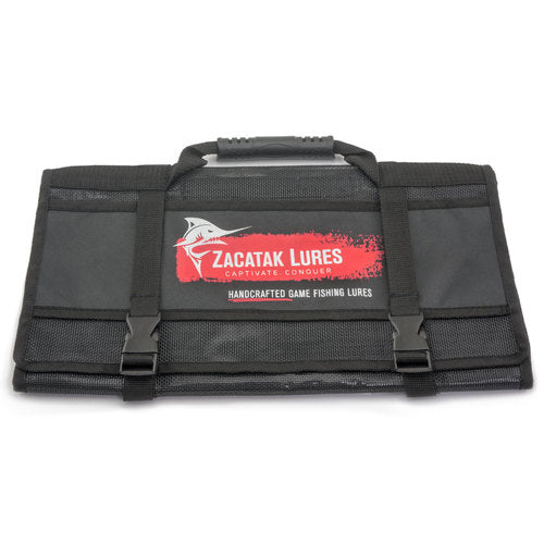 Zacatak Lures Six Pocket Lure Roll Bag