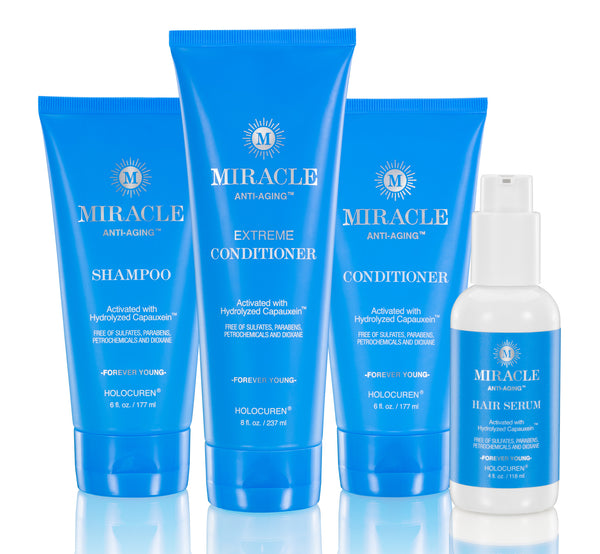 Miracle Anti-Aging Hair Treatment Full Collection