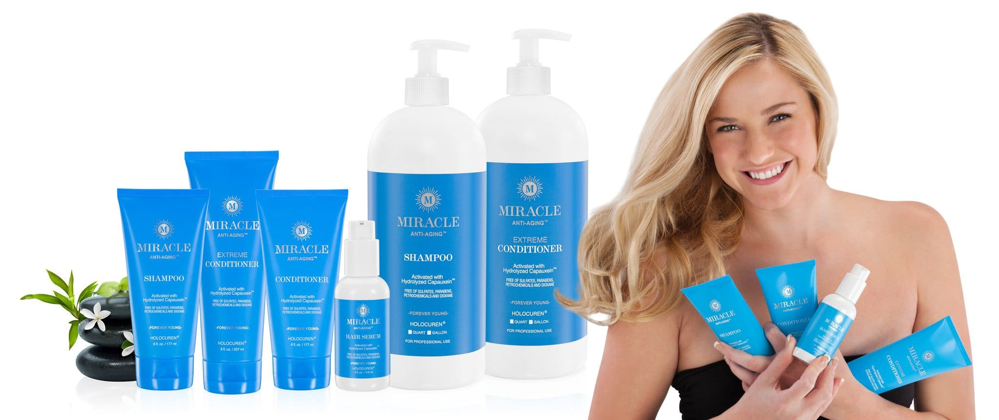 Natural Anti Aging Hair Treatments - Miracle Products