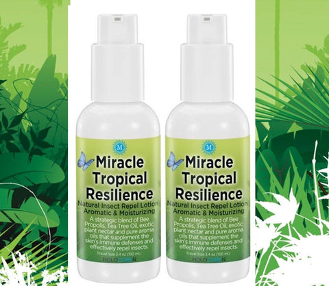 Miracle Tropical Resilience Insect Repel Lotion, 6.8oz Two Pack - HOLOCUREN - Official Website