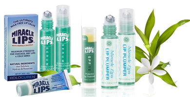MIRACLE LIPS 4 pc Value Pack SALVE, SERUM, SPF 15 Lip Balm & Lip Plumper - HOLOCUREN - Official Website