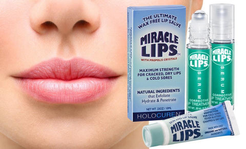 MIRACLE LIPS SALVE & SERUM COMBO PACK - HOLOCUREN - Official Website