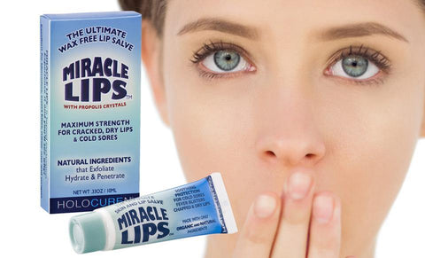 MIRACLE LIPS SALVE for Cracked, Dry Lips & Chronic Lip Ailments