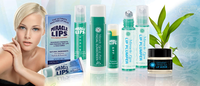 Miracle Lips Full Line, All 6 Products for One Low Price - HOLOCUREN - Official Website