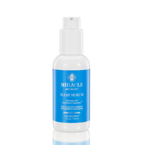 Miracle Anti-Aging Leave In Hair & Scalp Serum (4 OZ) - HOLOCUREN - Official Website