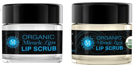Two Pack of Miracle Lips Organic Lip SCRUB, 0.5 oz * - HOLOCUREN - Official Website