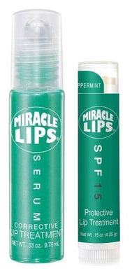 2 Pack: Miracle Lips Serum (Beauty Primer) and Miracle Lips SPF 15 Lip Balm - HOLOCUREN - Official Website