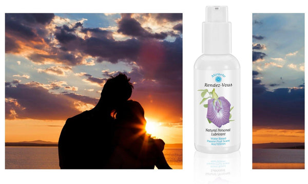 3.4 oz Miracle Rendez-Vous Personal Lubricant, with natural and Organic ingredients