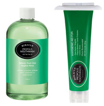 Miracle Propolis Toothpaste & Mouthwash Combo + Tube Squeezer - HOLOCUREN - Official Website