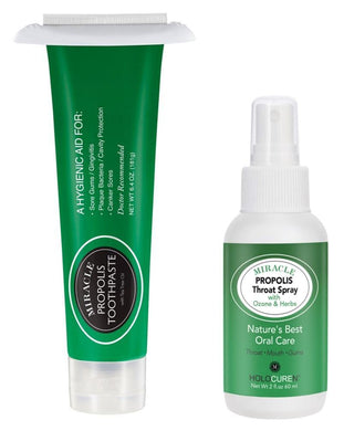 Miracle Propolis Toothpaste & Propolis Throat Spray with Echinacea - HOLOCUREN - Official Website