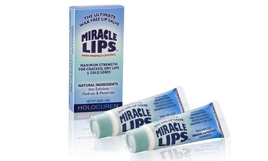 2-Pack MIRACLE LIPS SALVE Corrective Lip Balm 10ml - HOLOCUREN - Official Website