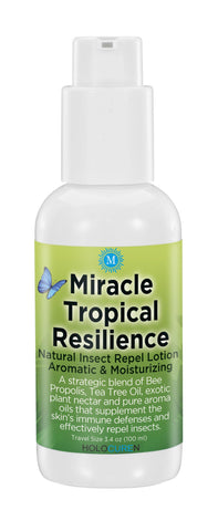 Miracle Tropical Resilience Insect Repel Lotion, 3.4oz travel size - HOLOCUREN - Official Website