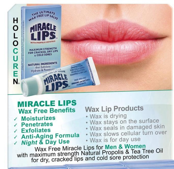 2-Pack MIRACLE LIPS SALVE Corrective Lip Action