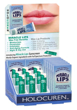 Lip ACTION 2 pack with MIRACLE LIPS SALVE corrective Lip Balm and Miracle Lips SPF 15