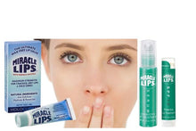 2 pack MIRACLE LIPS SALVE and Miracle Lips SPF 15 Correct and Protect